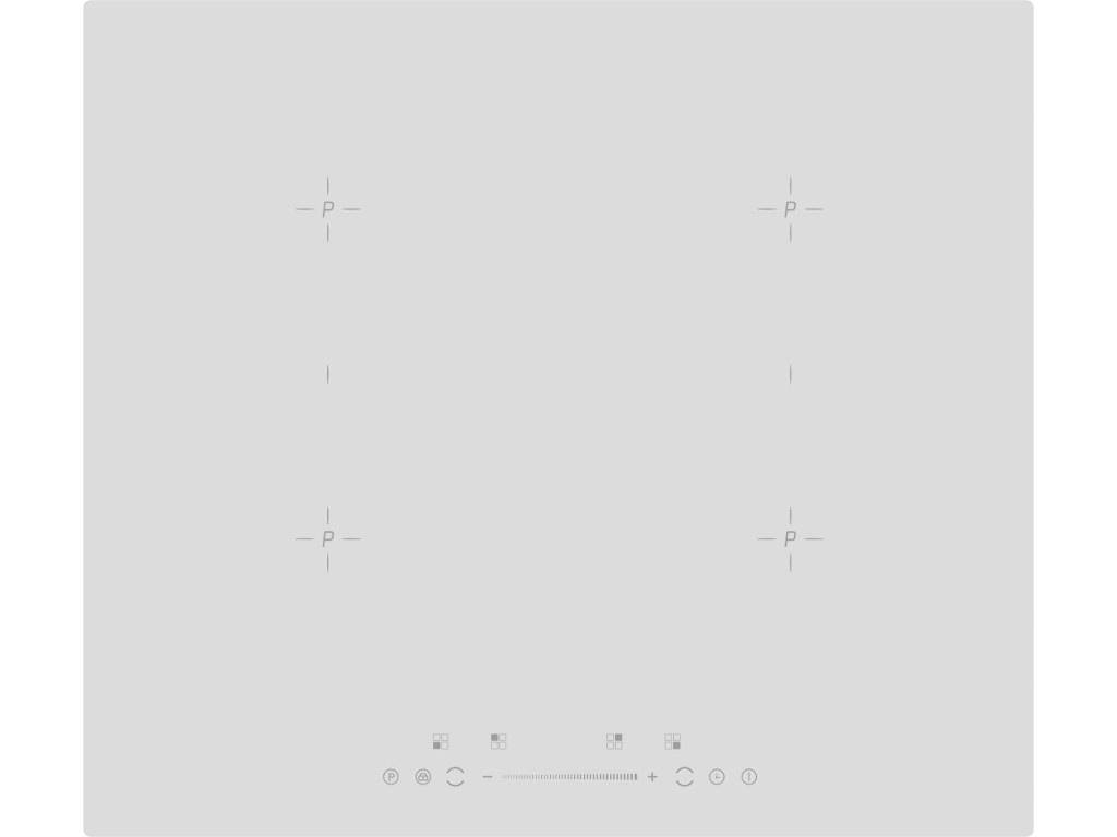 Варочная панель GRAUDE IK 60.2 BW