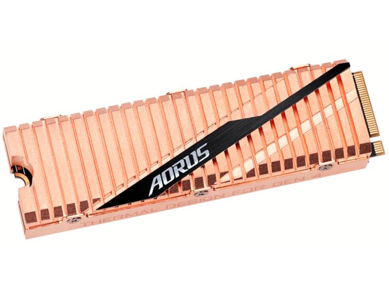 Твердотельный накопитель GigaByte Aorus 500Gb GP-ASM2NE6500GTTD