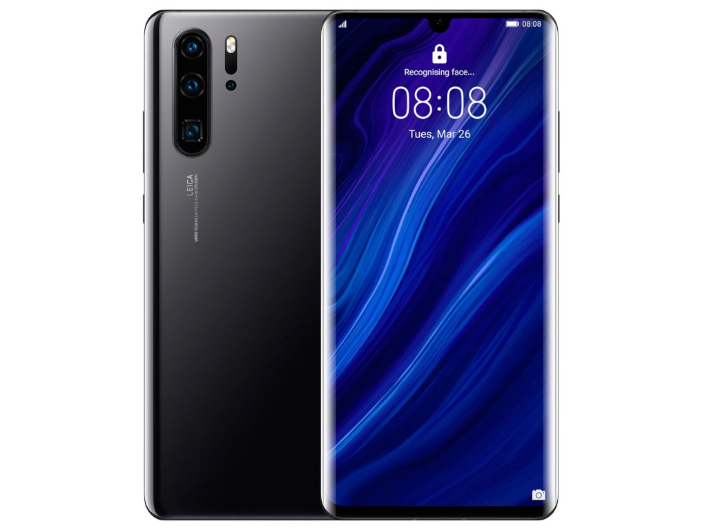 Сотовый телефон Huawei P30 Pro Black