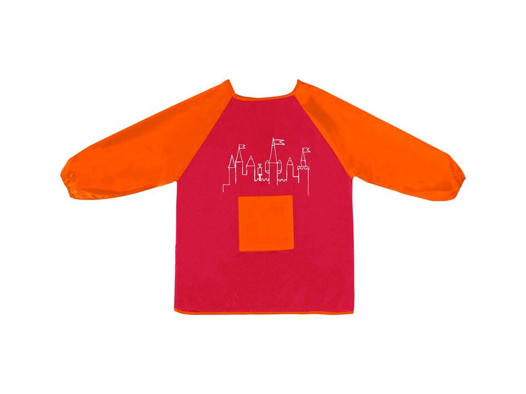 Фартук-накидка с рукавами Faber-Castell Red-Orange 201204