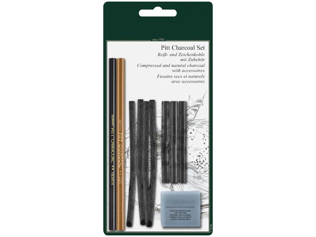 Набор угля и угольных карандашей Faber-Castell Pitt Charcoal 112996
