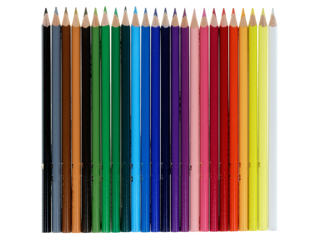 Карандаши цветные Faber-Castell 24 цветов 120524
