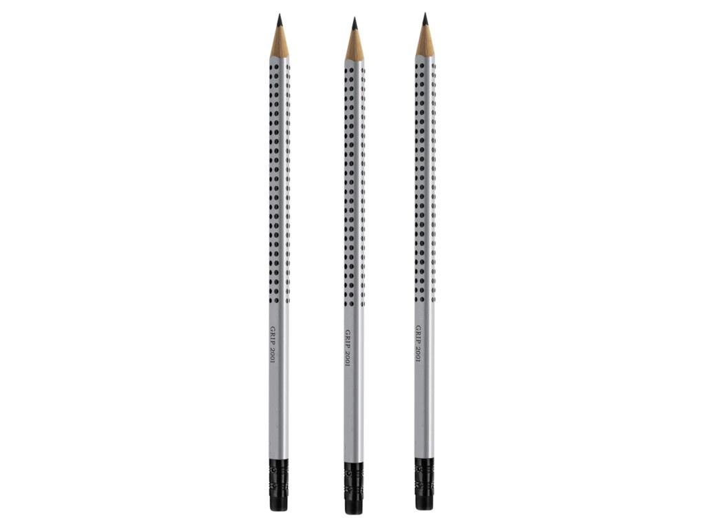 Набор карандашей Faber-Castell Grip 2001 3шт 263215
