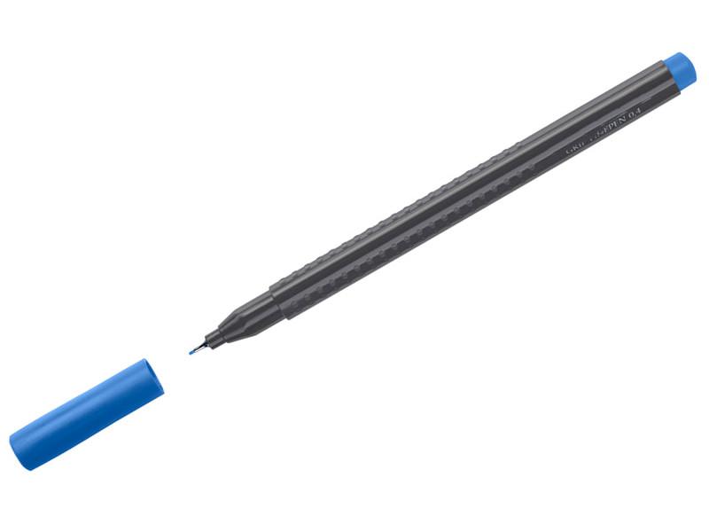 купить Ручка капиллярная Faber-Castell Grip Finepen 0.4mm корпус Black, стержень Blue 151651 дешево