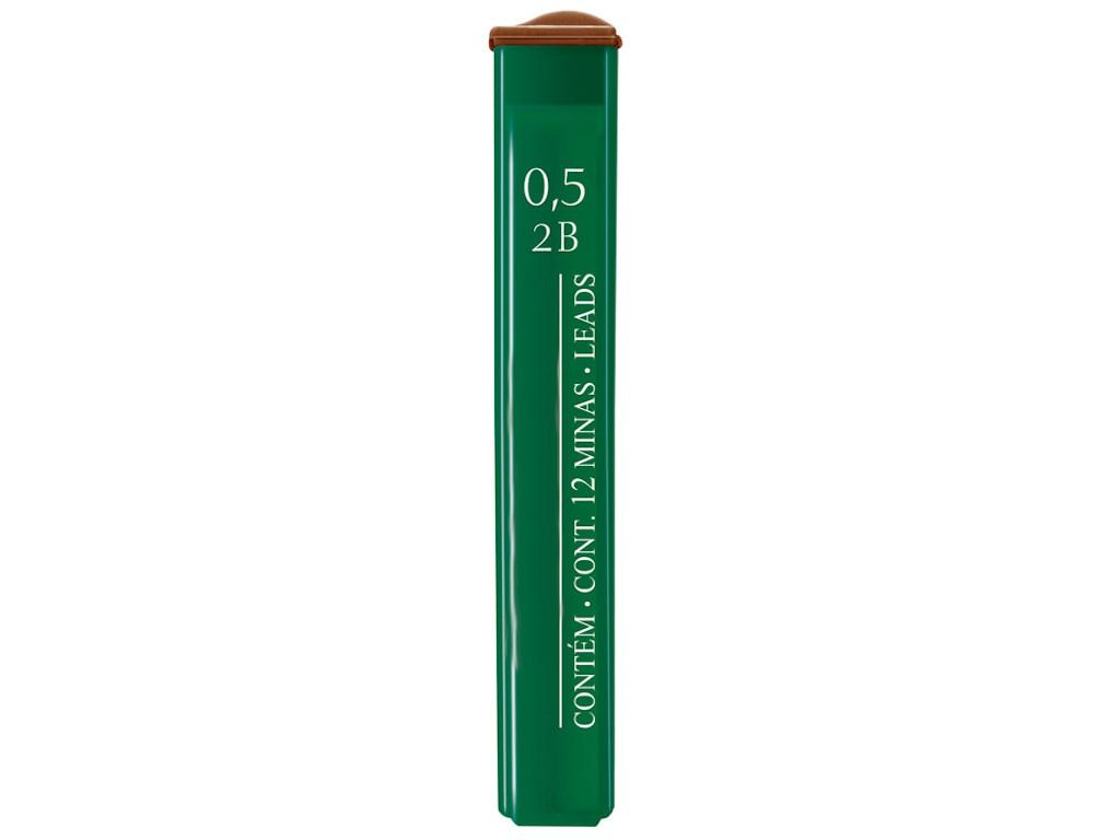Грифель Faber-Castell Polymer 0.5mm 12шт 521502