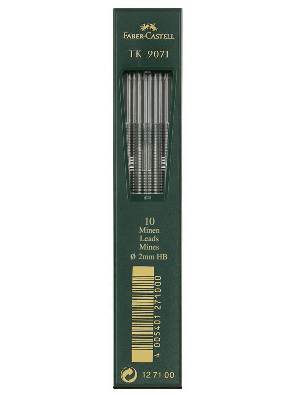 Грифель Faber-Castell TK 9071 2.0mm 10шт 127100