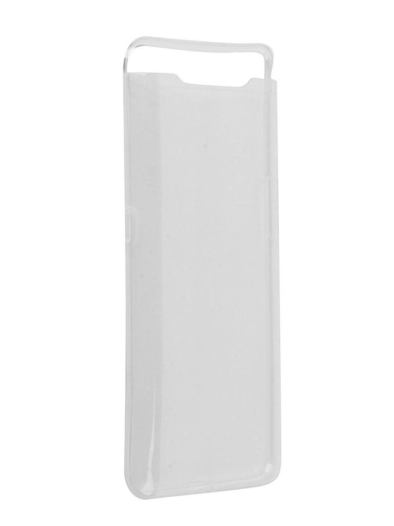 Чехол Svekla для Samsung A80 A805F / A90 A905F Silicone Transparent ZS-SVSGA805FD-WH