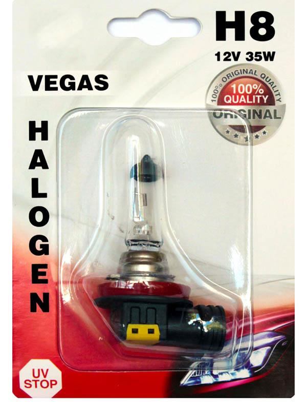 Лампа AVS Vegas H8 12V 35W (1 штукa) A78484S