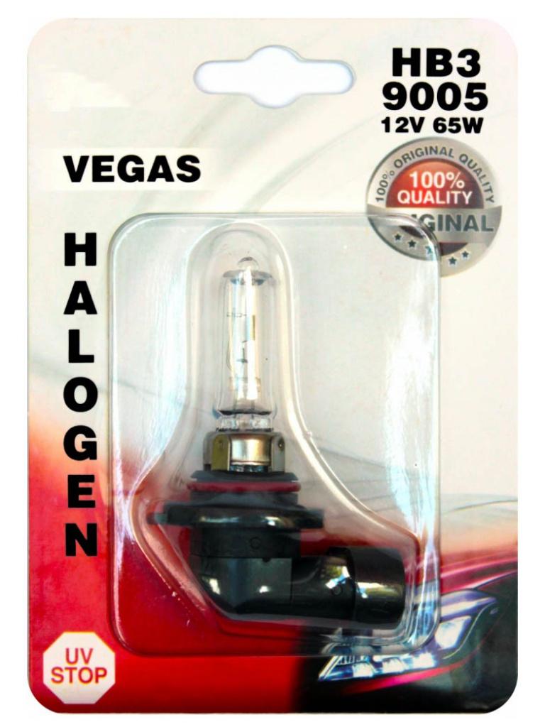 Лампа AVS Vegas HB3/9005 12V 65W (1 штукa) A78485S