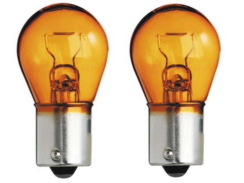 Лампа AVS Vegas PY21W BAU15S 12V Orange (2 штуки) A78476S