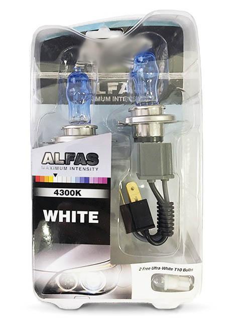 купить Лампа AVS Alfas Maximum Intensity H4 12V 75/85W T10 4300K 2+2шт A07235S по цене 541 рублей