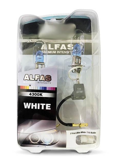 купить Лампа AVS Alfas Maximum Intensity H3 12V 85W T10 4300K 2+2шт A07234S по цене 393 рублей