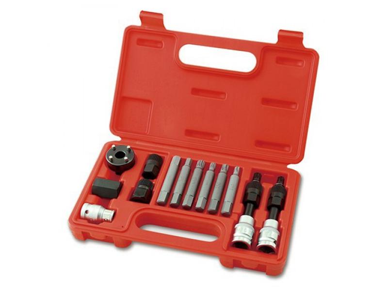 Инструмент Набор инструмента AV Steel для снятия/установки генераторов/шкивов 13 предметов AV-920051
