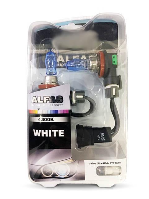 Лампа AVS Alfas Maximum Intensity H11 12V 85W T10 4300K 2+2шт A07233S