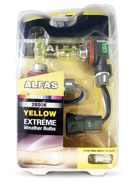 Лампа AVS Alfas Extreme Weather H11 12V 85W T10 2800К 2+2шт A07228S