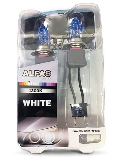 купить Лампа AVS Alfas Maximum Intensity H7 12V 85W T10 4300K 2+2шт A07236S по цене 541 рублей