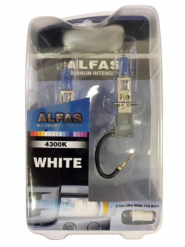 Лампа AVS Alfas Maximum Intensity H1 24V 85W T10 4300K 2+2шт A07239S