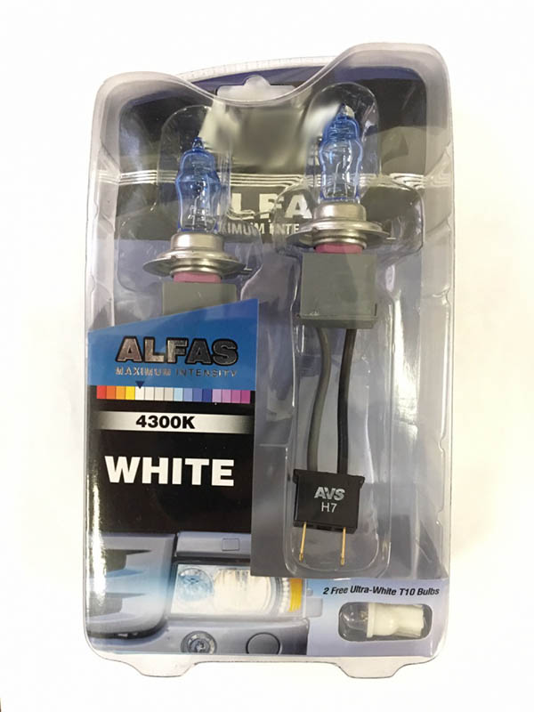 Лампа AVS Alfas Maximum Intensity H7 24V 85W T10 4300K 2+2шт A07238S