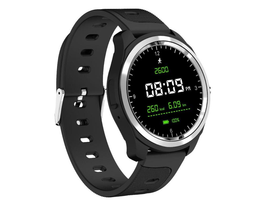 Умные часы KingWear KW05 Black умные часы kingwear kc09 black
