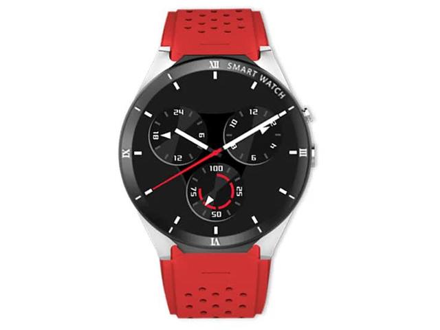 Умные часы KWART Elegance Silver-Red