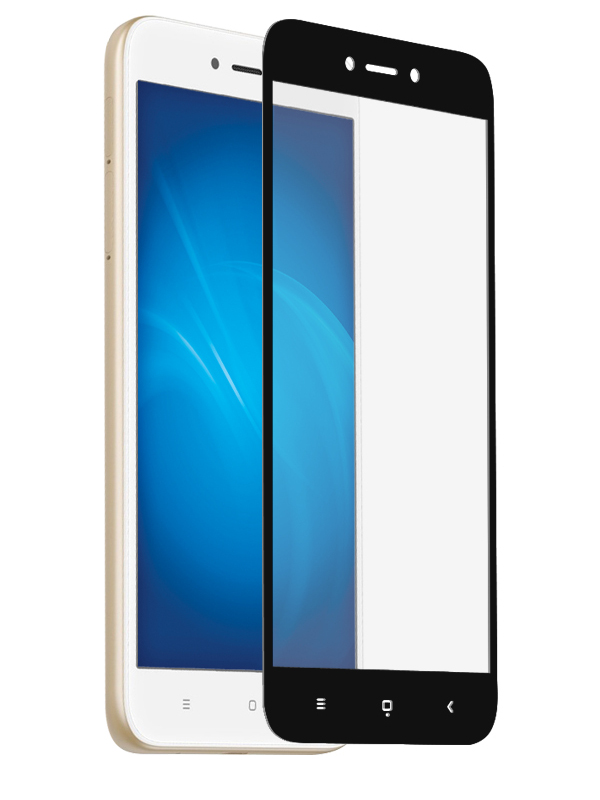 Противоударное стекло Innovation для Xiaomi Redmi Go / Redmi 5A 2D Full Glue Cover Black 15545 цена и фото