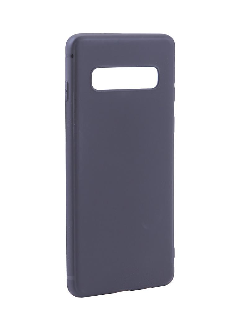 Аксессуар Чехол Innovation для Samsung Galaxy S10 Matte Black 15237