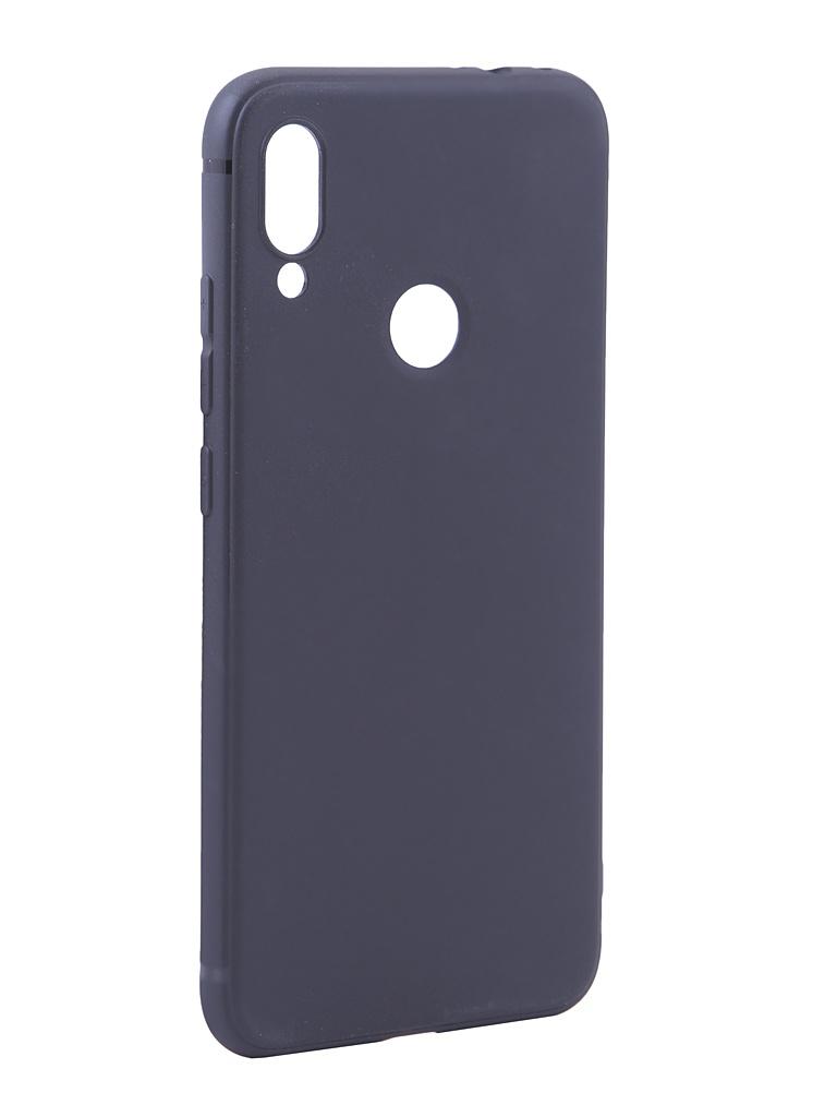 Чехол Innovation для Xiaomi Redmi Note 7 Matte Black 14717