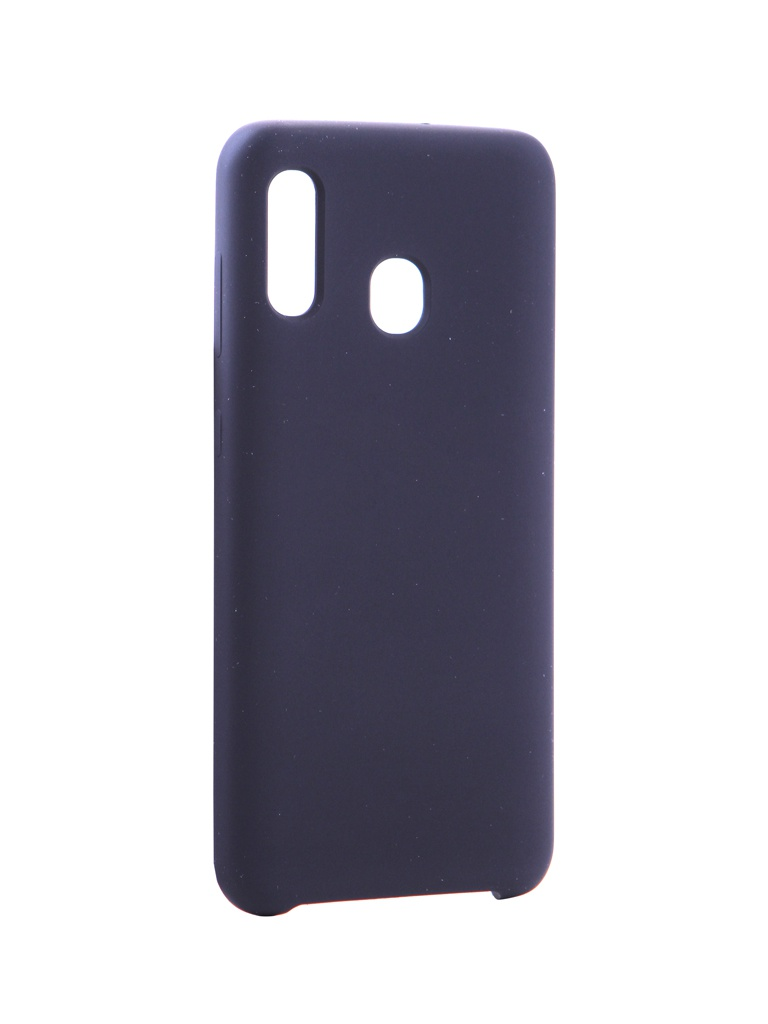 Аксессуар Чехол Innovation для Samsung Galaxy A20 / A30 Silicone Black 16279