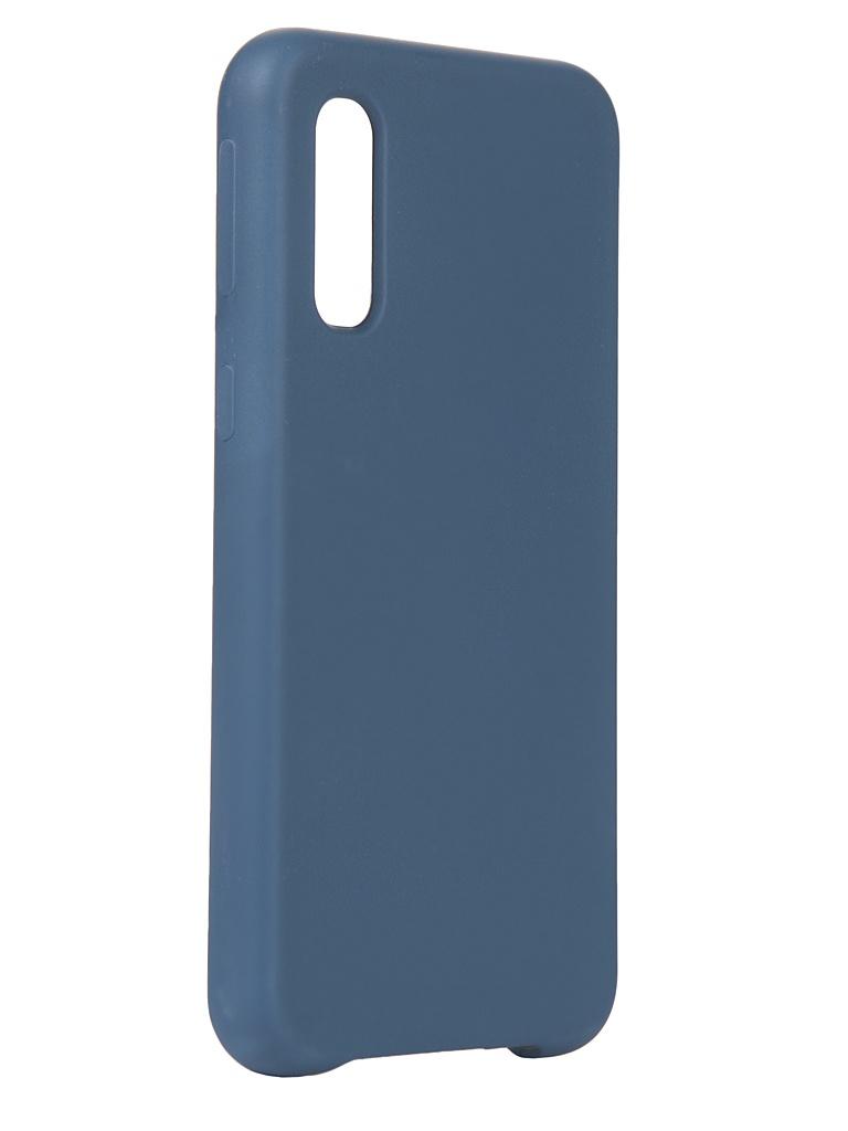 Чехол Innovation для Samsung Galaxy A2 Core 2019 Silicone Blue 16301 чехол innovation для samsung galaxy a3 core book blue 19551