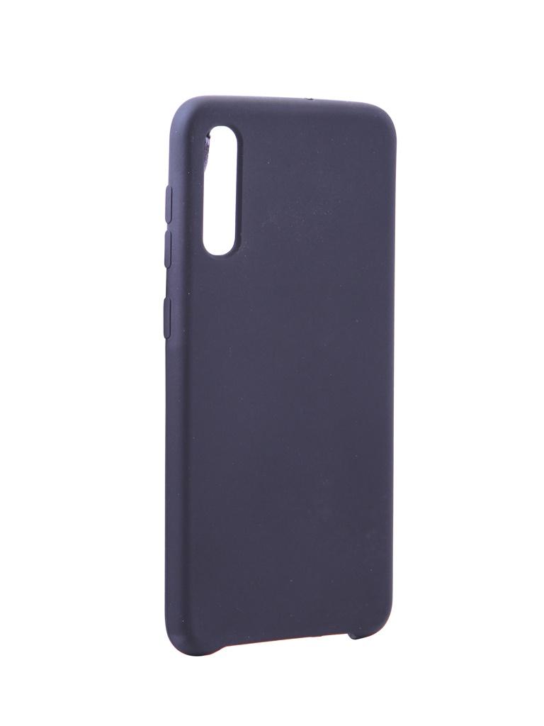 Чехол Innovation для Samsung Galaxy A50 Silicone Black 16288