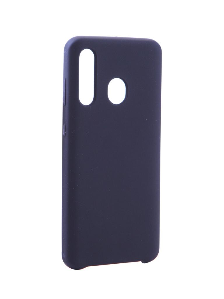 Чехол Innovation для Samsung Galaxy A60 Silicone Black 16293