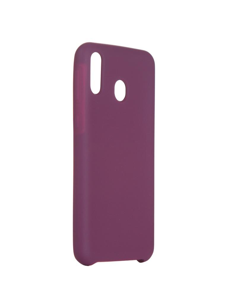 Чехол Innovation для Samsung Galaxy M20 Silicone Purple 15372