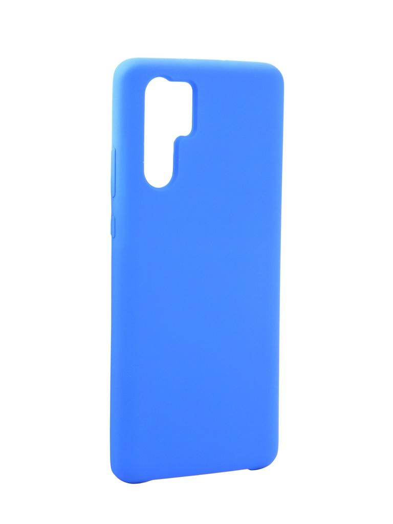 Чехол Innovation для Huawei P30 Pro Silicone Blue 15315