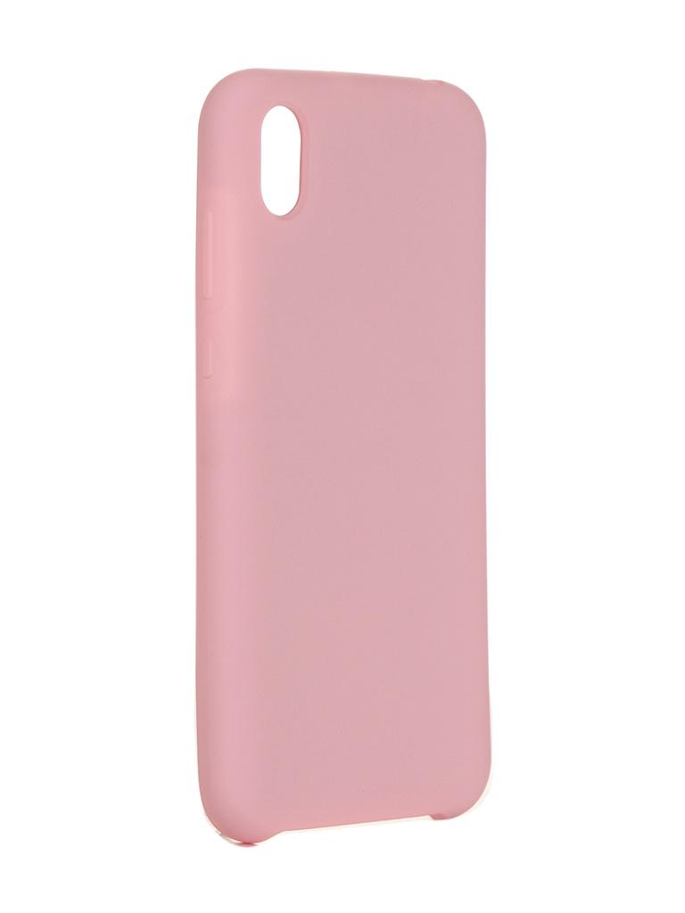 Чехол Innovation для Huawei Y5 2019 / Honor 8S Silicone Pink 16305