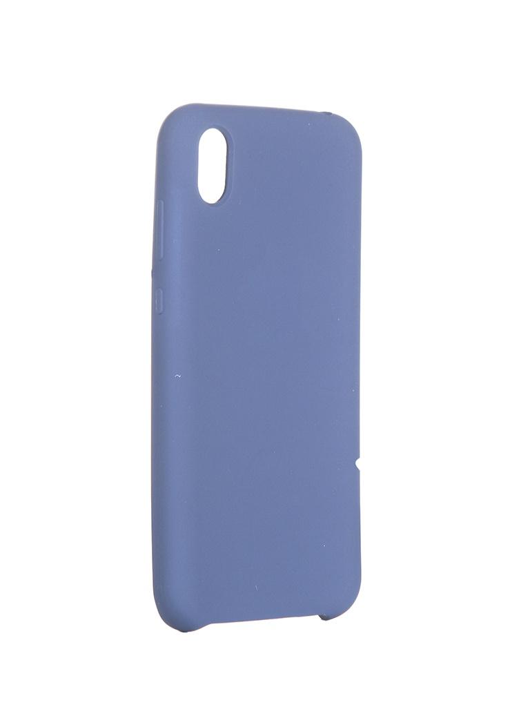 Чехол Innovation для Huawei Y5 2019 / Honor 8S Silicone Blue 16306