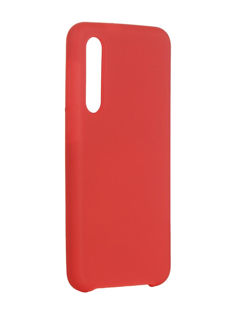 Чехол Innovation для Xiaomi Mi 9SE Silicone Red 15398 чехол innovation для xiaomi mi 9se silicone red 15398
