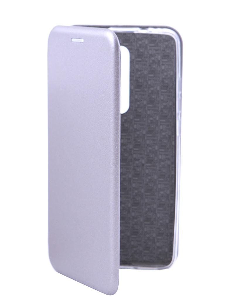 Аксессуар Чехол Innovation для Xiaomi Mi 9T/K20 Silicone Silver 16348 все цены