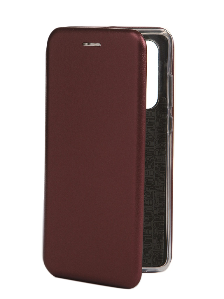 Чехол Innovation для Huawei P30 Book Silicone Magnetic Bordo 15448