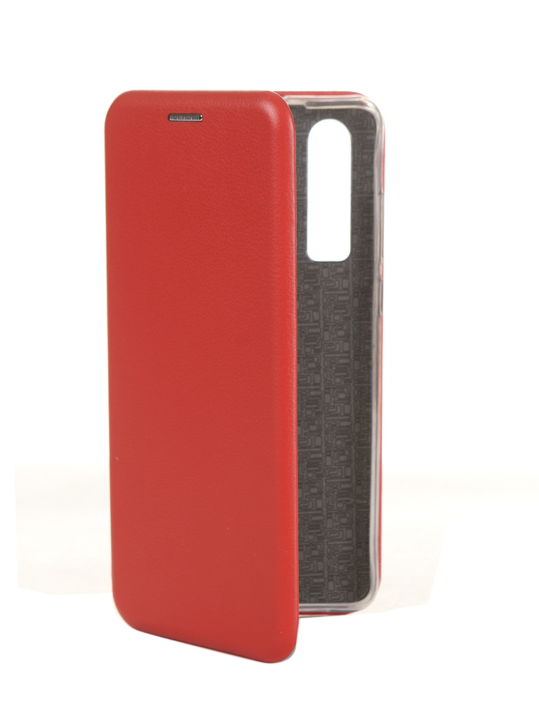 Чехол Innovation для Huawei P30 Book Silicone Magnetic Red 15441