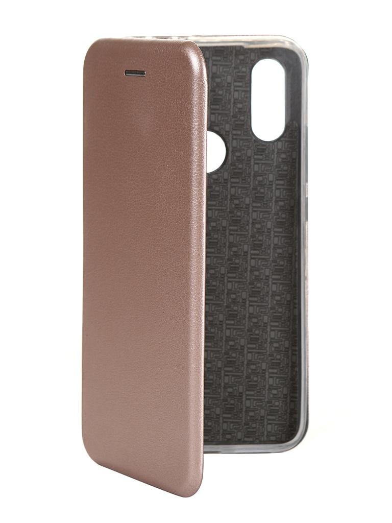 Чехол Innovation для Xiaomi Redmi 7 Silicone Rose Gold 15264