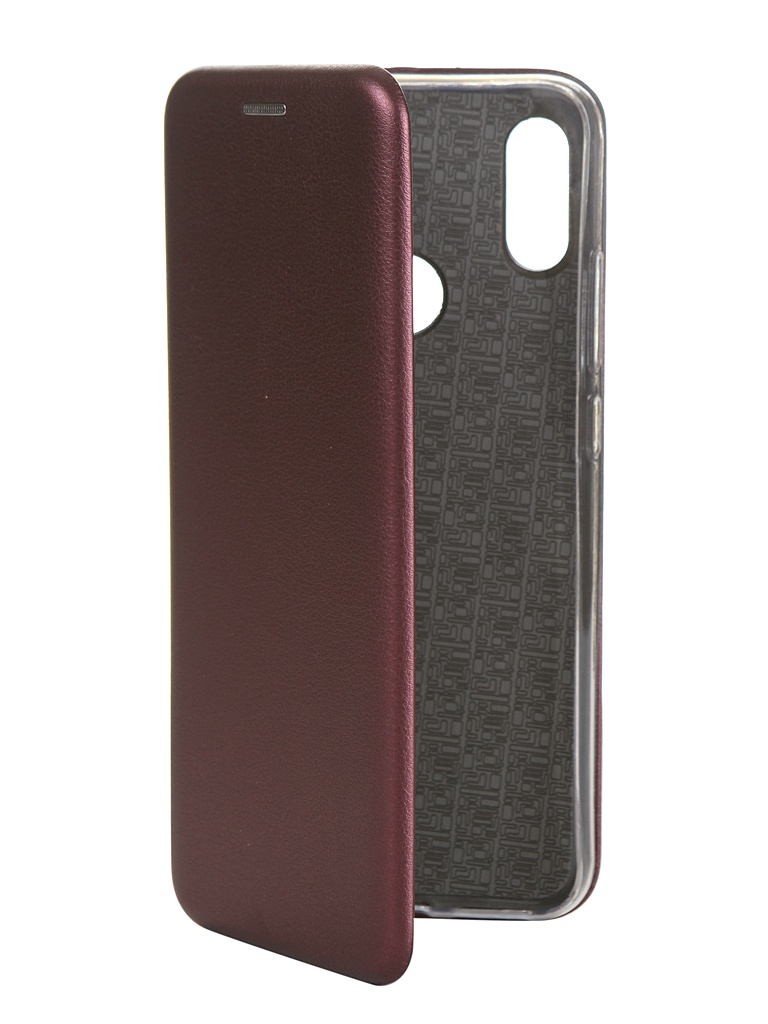 Чехол Innovation для Xiaomi Redmi Note 7 Silicone Bordo14806