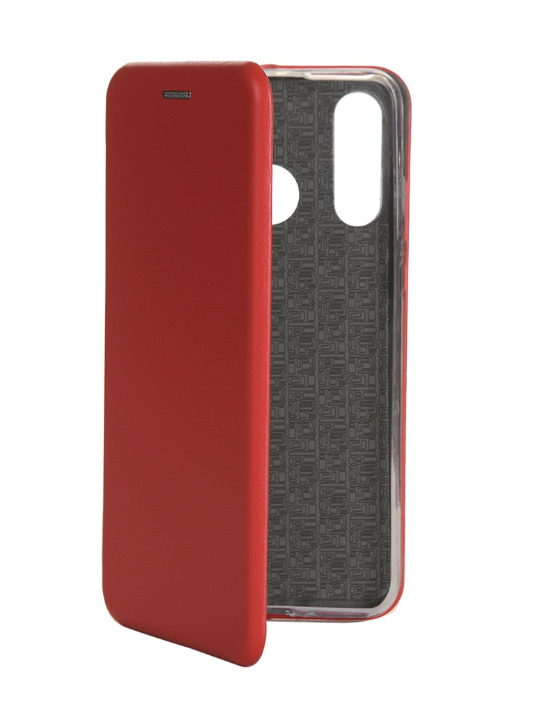 Чехол Innovation для Huawei P30 Lite Book Silicone Magnetic Red 15470