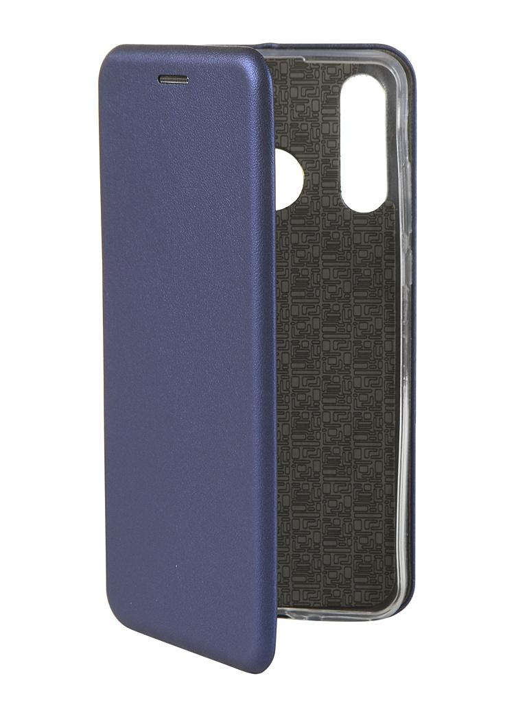 Чехол Innovation для Huawei P30 Lite Book Silicone Magnetic Blue 15466