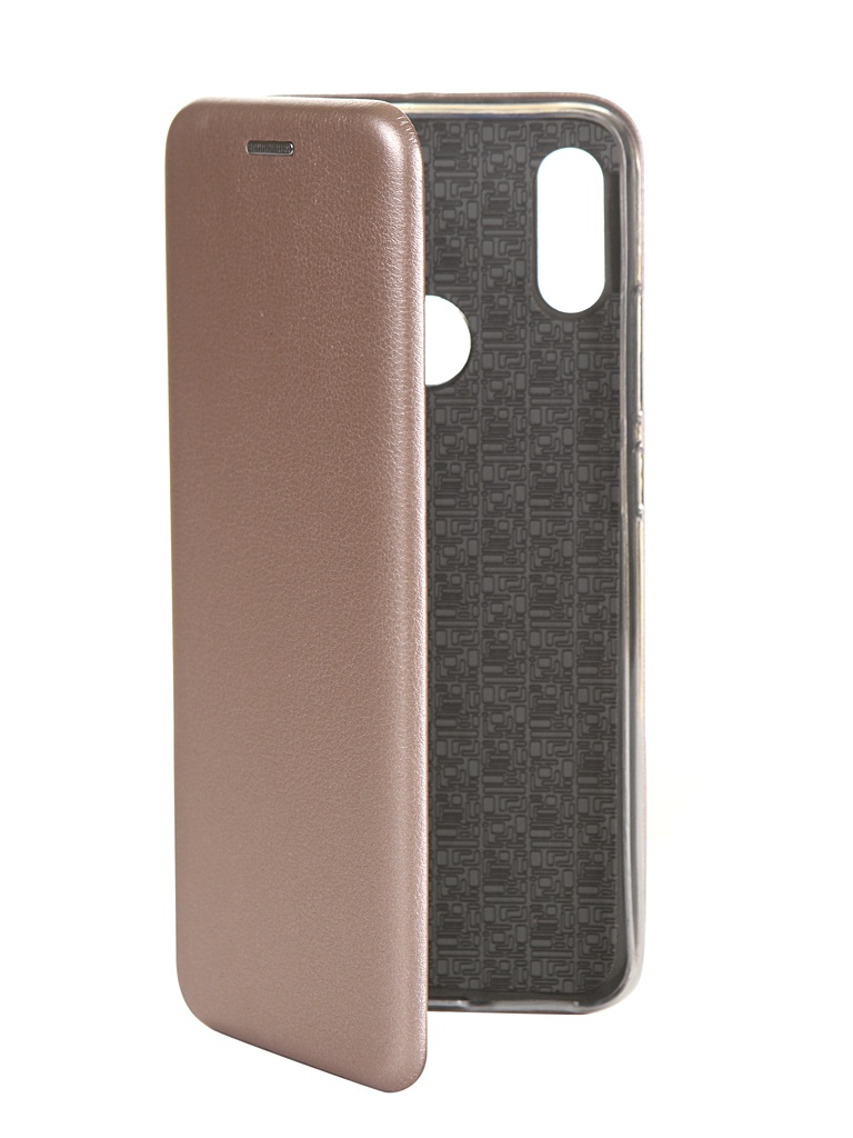 Чехол Innovation для Xiaomi Redmi Note 7 Silicone Rose Gold 14808