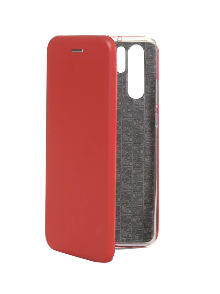 Чехол Innovation для Huawei P30 Pro Book Silicone Magnetic Red 15462 чехол innovation для huawei nova 3 book silicone magnetic red 13391