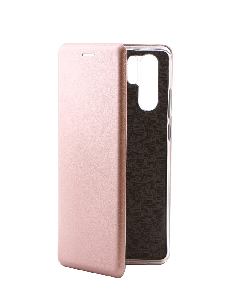 Чехол Innovation для Huawei P30 Pro Book Silicone Magnetic Rose Gold 15457 аксессуар чехол для huawei mate 20 pro innovation book silicone magnetic black 13385