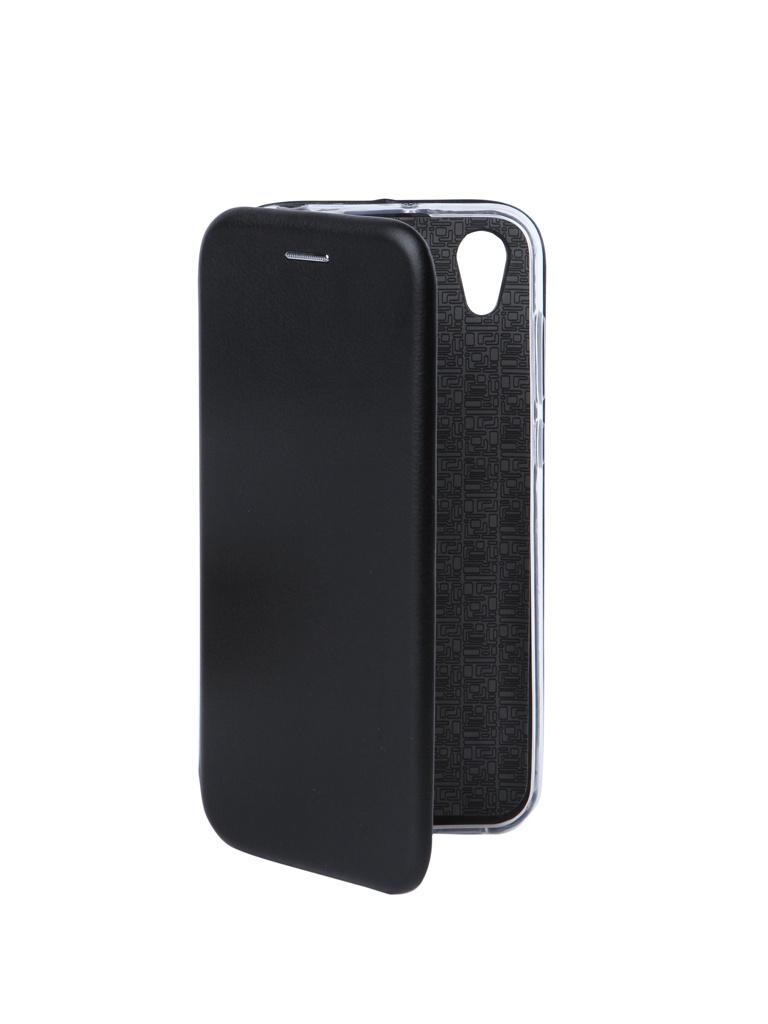 Чехол Innovation для Huawei Y5 2019 / Honor 8S Book Silicone Magnetic Black 15437