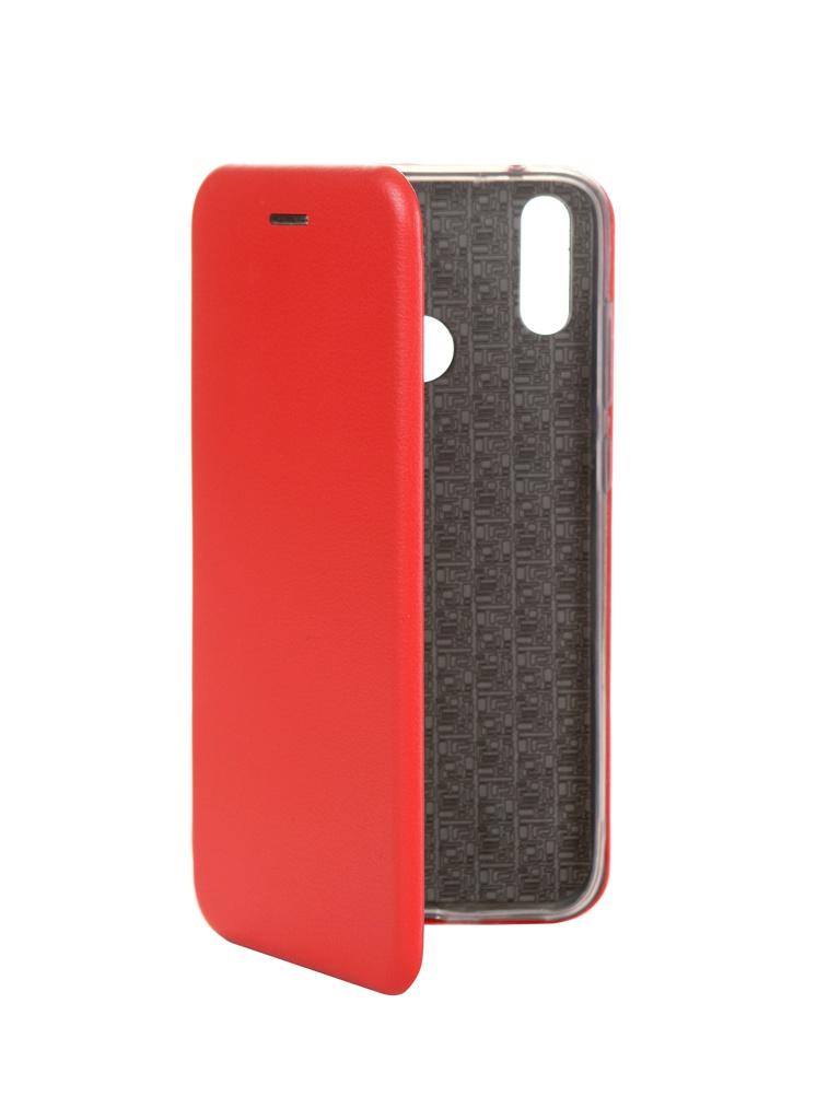 Чехол Innovation для Huawei Y7 2019 Book Silicone Magnetic Red 15414 чехол innovation для huawei nova 3 book silicone magnetic red 13391