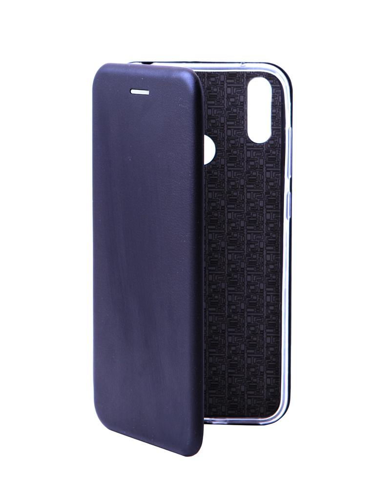 Чехол Innovation для Huawei Y7 Prime 2019 Book Silicone Magnetic Black 14772