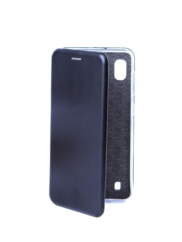 Чехол Innovation для Samsung Galaxy A10 Silicone Book Magnetic Black 15270